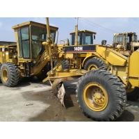 Best CAT 140H Used Motor Grader With Ripper , Second Hand Graders wholesale