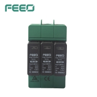 Buy cheap DC SPD Lighting Protection FSP-D40 3P 1500V from wholesalers