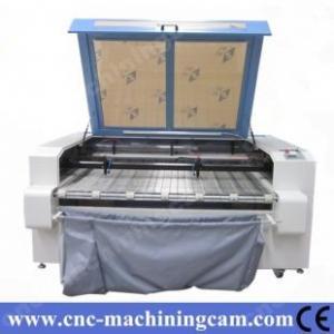 Best ZK-1610-80W Cloth/Garment Laser Cutting Machine Double Head 1600*1000MM wholesale