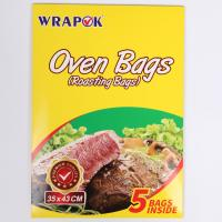 Best Eco-friendly Heat Resistant Clear Plastic Oven Turkey Bread Cooking Bags wholesale