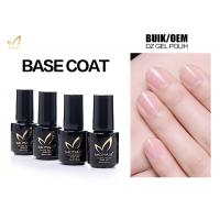 Best No Smell No Toxic Free Samples High Glossy Transparet Soak Off UV Gel Base Coat wholesale