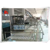 Best Touch Screen Complete Bottled Water Production Lines 50 - 180 PCS/H With Water Treatment wholesale