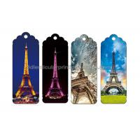 Cheap 0.6 PP Customizable 3D Lenticular Bookmark Personalised Bookmarks For Students for sale