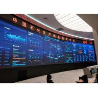 Best 4Mm Fixed Installation Indoor Led Screen , Aluminum Video Led Panel Rgb Fcc wholesale