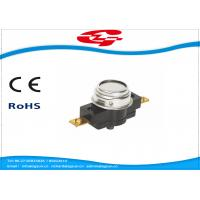 Best Manual Reset Temperature Bimetal Thermostat 45~160 Degree 25A 250V (45A 250V) wholesale