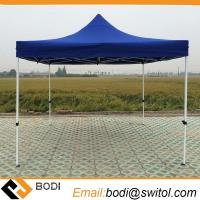 China 10X10 Blue Customized Cheap Pop up Gazebo Tent with Wall for Trade Show Event Exhibition Wedding Party Camping Fold Tent on sale