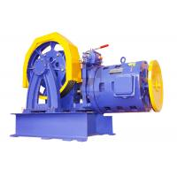 Best Elevator Parts / Geared Traction Machine With AC Motor , Load 1000 - 2000 KG  SN-TMYJ210A wholesale