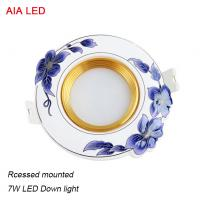 Best Good price and RA80 blue 7W China indoor LED down light in ceiling used wholesale