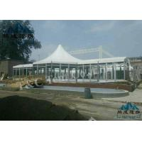 Best Luxury Decoration Bell Tent Hotel , Selectable Size Outdoor Event Tent wholesale