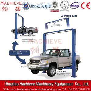 Best Hydraulic  Two Post Car Lift & Clear Floor Cheap Car Hoist wholesale