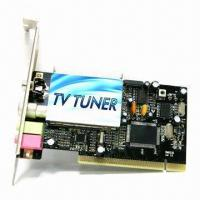 Best PAL/NTSC PCI TV Tuner Card with Composite Input, Philips 7130 Chipset and Encode MPEG-1/2 for Vista wholesale