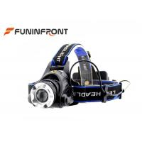 Best CREE XM-L2 1200LMs Powerful Water Resistant Outdoor LED Headlamp wholesale