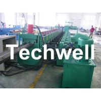Best 7 Rollers Leveling 10 - 12m/min W Beam Roll Forming Machine for Crash Barrier wholesale