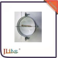 Quality Customised Galvanised Steel Hanging Pipe Clamps Riveted Nut M7 / M8 wholesale