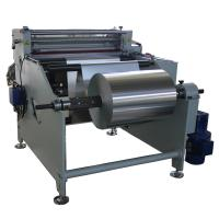 Best max width 800mm AL foil cutter Aluminium foil roll to sheet cutting machine wholesale