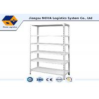 Cold Rolled Steel Commercial Shelving , Boltless Steel Shelving With High Density Board