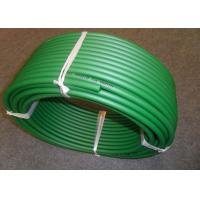 Quality Green Hardness 85A Polyurethane Round Belt with large Diameter wholesale