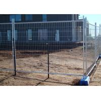 Best Sporting Events Builders Temporary Fencing , Portable Construction Fence wholesale