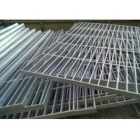 Best Flat Bar Galvanised Floor Grating , Round Bar Galvanized Walkway Grating wholesale