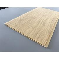 Cheap 7.5mm Thick Corrosion Resistant PVC Wood Panels for Ceiling / Wall Cladding for sale
