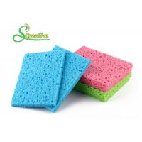 Best Colorful Multi Function Natural Cellulose Sponge for Bottle and Dish Cleaning wholesale
