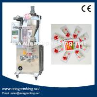 Best 4 sides seal Automatic Sachet Tomato Ketchup Packing Machine wholesale