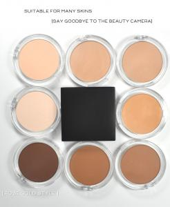 Best 8 Colors Highly Pigmented Moisturizing Waterproof Pressed Powder wholesale