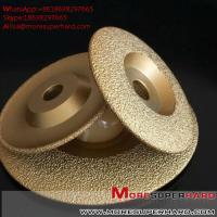 Best Vacuum Brazed Diamond Grinding Disc for marble and granite  Alisa@moresuperhard.com wholesale