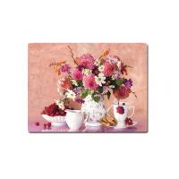 Cheap Decorative Flower PET Printing 3D Lenticular Plastic Table Mats Offset Printing for sale
