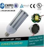 Best high lumen 130LM/W E27E40E26E39 60W led street light lamp led corn light smd5630 cri>80 3 years warranty CE ROHS wholesale
