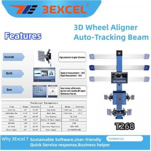 Best Turntables Auto Trucking Beam T268 3d Wheel Alignment wholesale