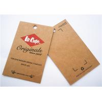 Best Durable Clothing Label Tags Logo Printing Cardboard Hang Tags wholesale