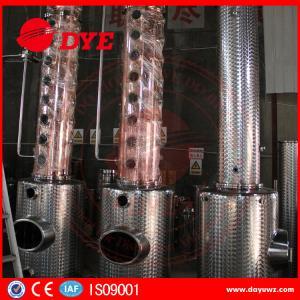 Best Stainless Steel Moonshine Alcohol Stills Copper Distiller Manual wholesale