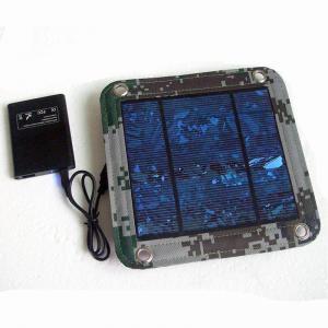 Best 600D PVC Foldable Solar Panel Renewable Energy  / Foldable Solar Charger For IPhone wholesale