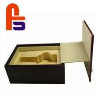 Best Large Size Foam Lined Cardboard Boxes Recyclable Materials For Packing Wine wholesale