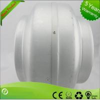 Best 220V Inline Circular Duct Fan For Supermarkets / Stations , Strong Corrosion Resistance wholesale