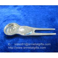 Best Metal golf repair pitchfork tools with magnet, magnetic ball marker golf divot tool, wholesale