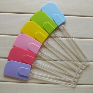 Best Non stick silicon cake decoration tool silicon spatula ,cream scraper wholesale