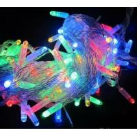 Cheap Christmas light LED light chian Green Yellow Red for tree in park decoration for sale