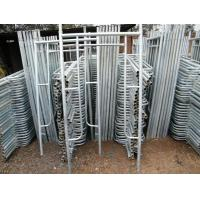 Quality Construction Structural Steel Walk Through Frame Scaffolding Flexible Long Span wholesale