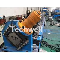 Best PLC Electrical Control Hat Profile Cold Roll Forming Machine With 1.5 Inch Chain Transmission wholesale