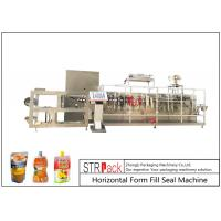 Best Customize Horizontal Form Fill Seal Machine , Top Spout Pouch Packing Machine wholesale