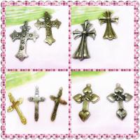 Best Brass Pandent Crystal Pave Cross Charm 34 * 18 mm Wedding Jewelry Making wholesale