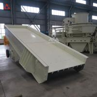 Buy cheap China Large capacity stone Feeding Machine Vibrating Feeder for mining and from wholesalers