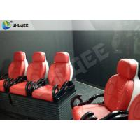 Best Truck Mobile 5D Cinema dynamic control system With 6 - 12 Seats wholesale