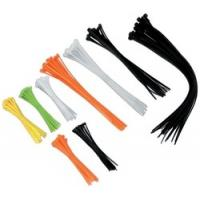 Best Multi coloured Industrial Cable Ties, hook loop cable ties with Nylon Material wholesale