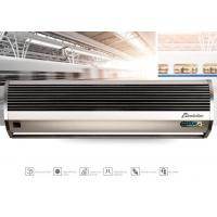 Best Remote Controlling Aluminum Silver Compact Air Curtains For Door 9-11m/s wholesale