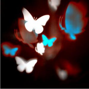 Quality Lightshow Multi Color Snow Flurry Snowflake LED Projection Light Christmas wholesale