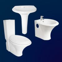 Cheap china sanitary ware manufacturers washdown toilet one piece with slowdown seat for sale