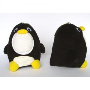 Supply 3d face doll -Middle Black Penguin